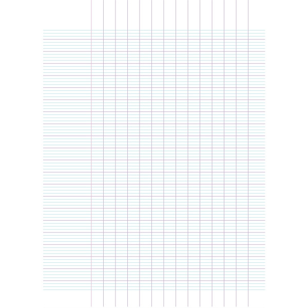 Lot de 10 cahiers de brouillon 96 pages 17x22 cm